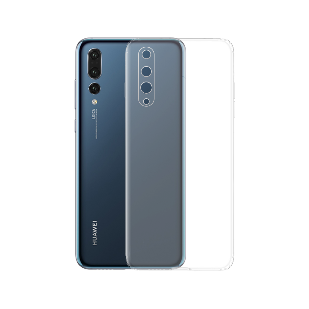 OEM Silicone case For Huawei P20 Pro, Transparent - 51622