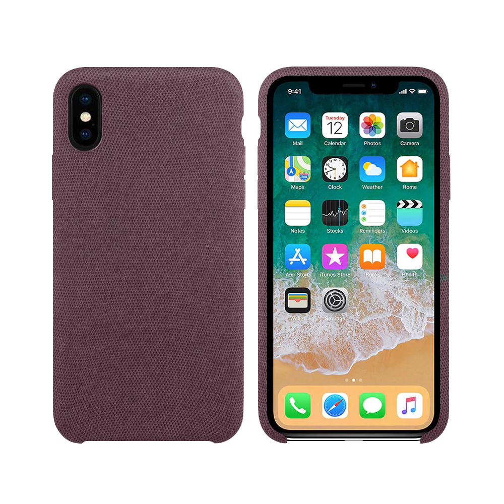OEM Silicone case For Apple iPhone X/XS, Hiha, Pink - 51673