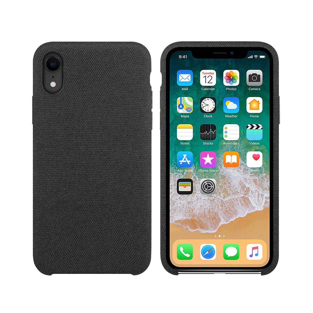 OEM Silicone case For Apple iPhone XR, Hiha, Gray - 51678