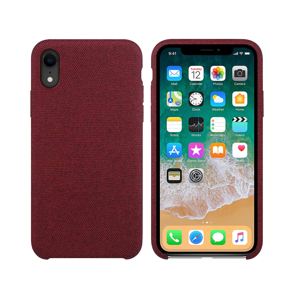 OEM Silicone case For Apple iPhone XR, Hiha, Red - 51680