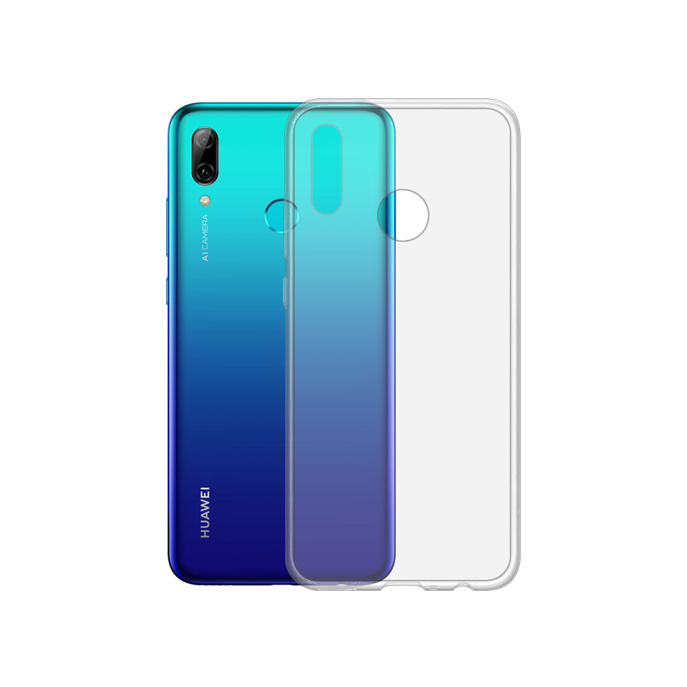 OEM Silicone case For Huawei P Smart 2019, Slim, Transparent - 51708