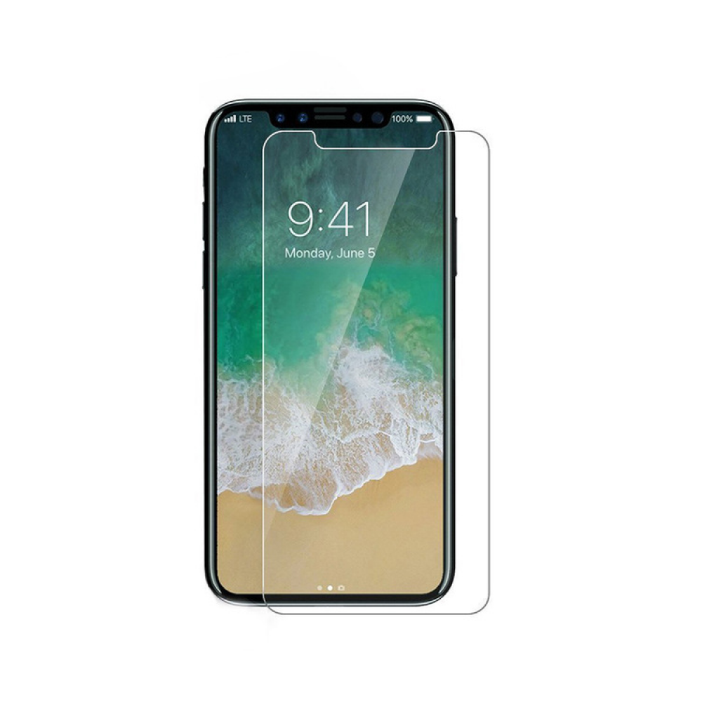 OEM Glass protector Tempered Glass for iPhone X, 0.3mm, Transperant - 52343