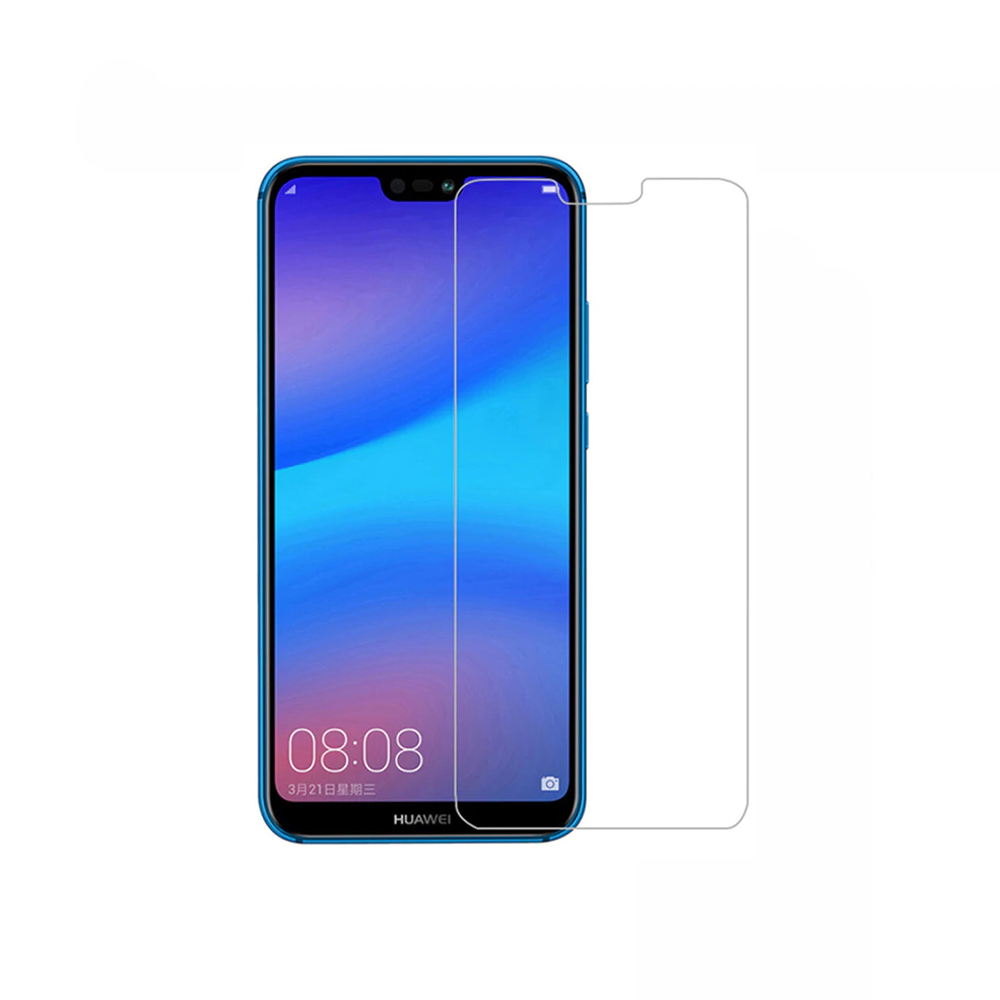 DeTech,Tempered glass For Huawei P20 Lite, 0.3mm, Transparent - 52458