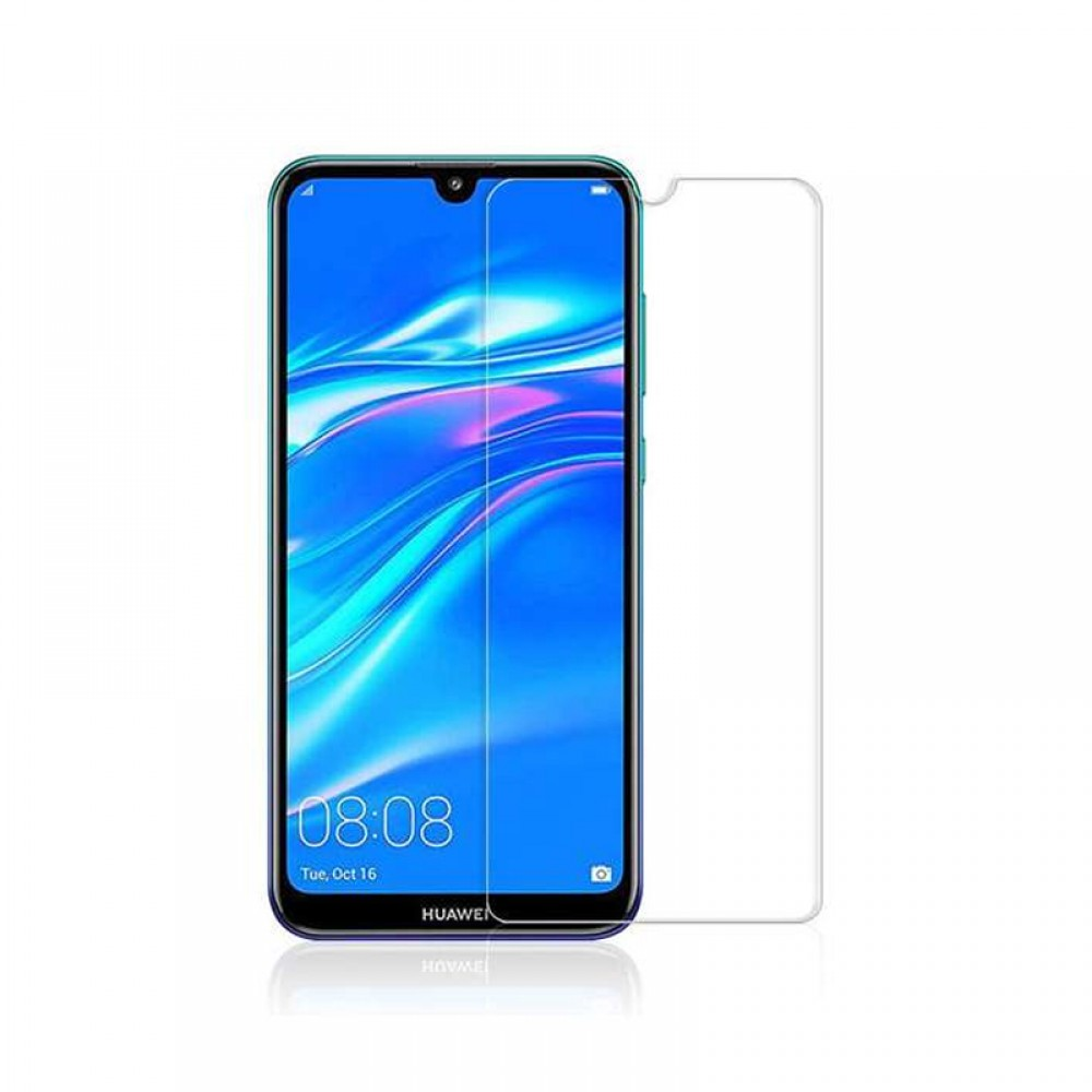 DeTech,Tempered glass For Huawei Y7 2019, 0.3mm, Transparent - 52515