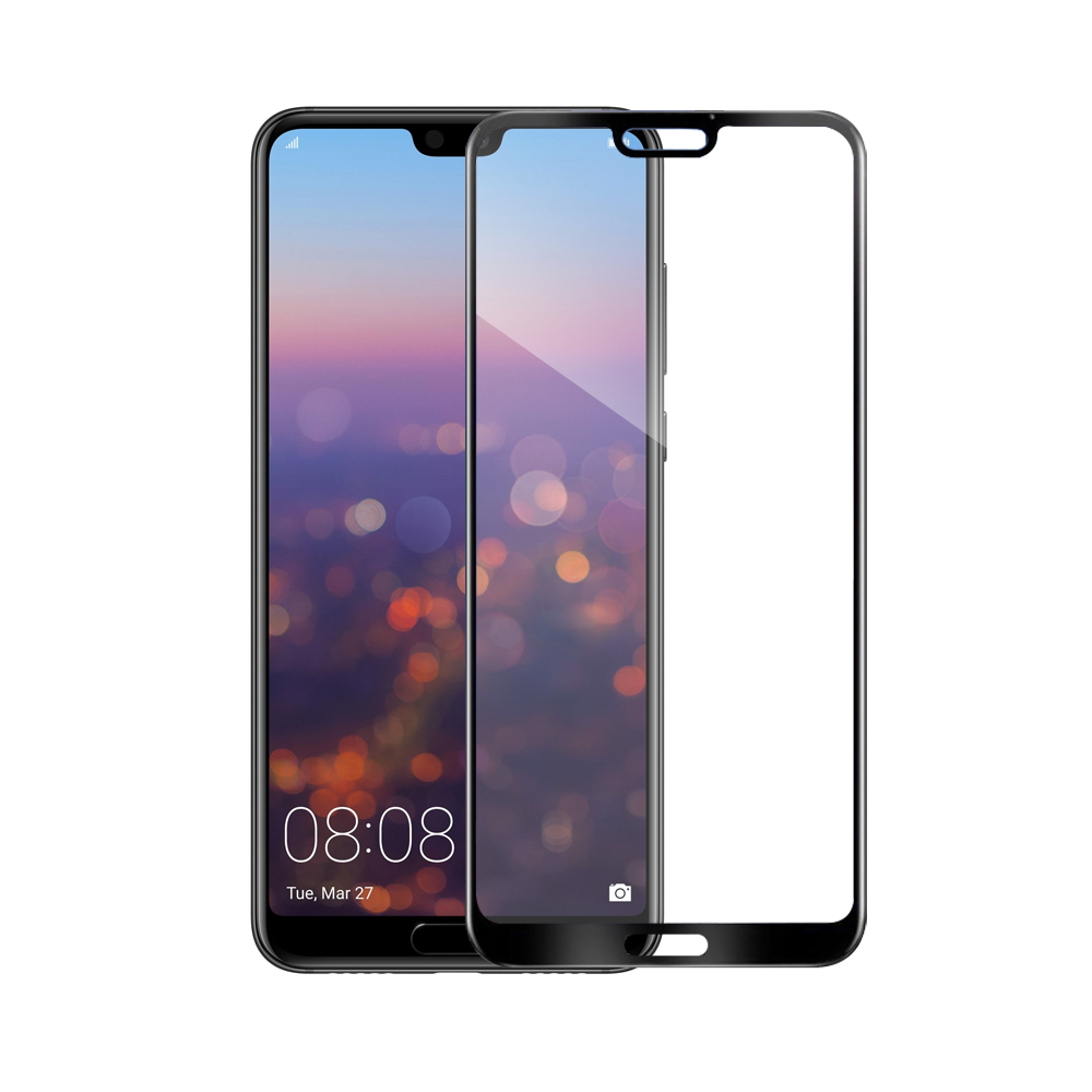 Mocoson Tempered glass Nano Flexible, Full 5D, For Huawei Mate 20 Pro, 0.3mm, Black - 52544