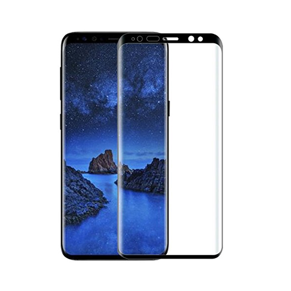 Mocoson Screen protector Polymer Nano Ceramic,Mate,Full5D,Samsung Galaxy S10 Plus,0.3mm,Black 52627