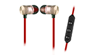 Wireless Bluetooth Headsets EK-027A Red Gold 3800158122640