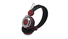 Stereo headset with microphone EK-1008 Red 3800158122589