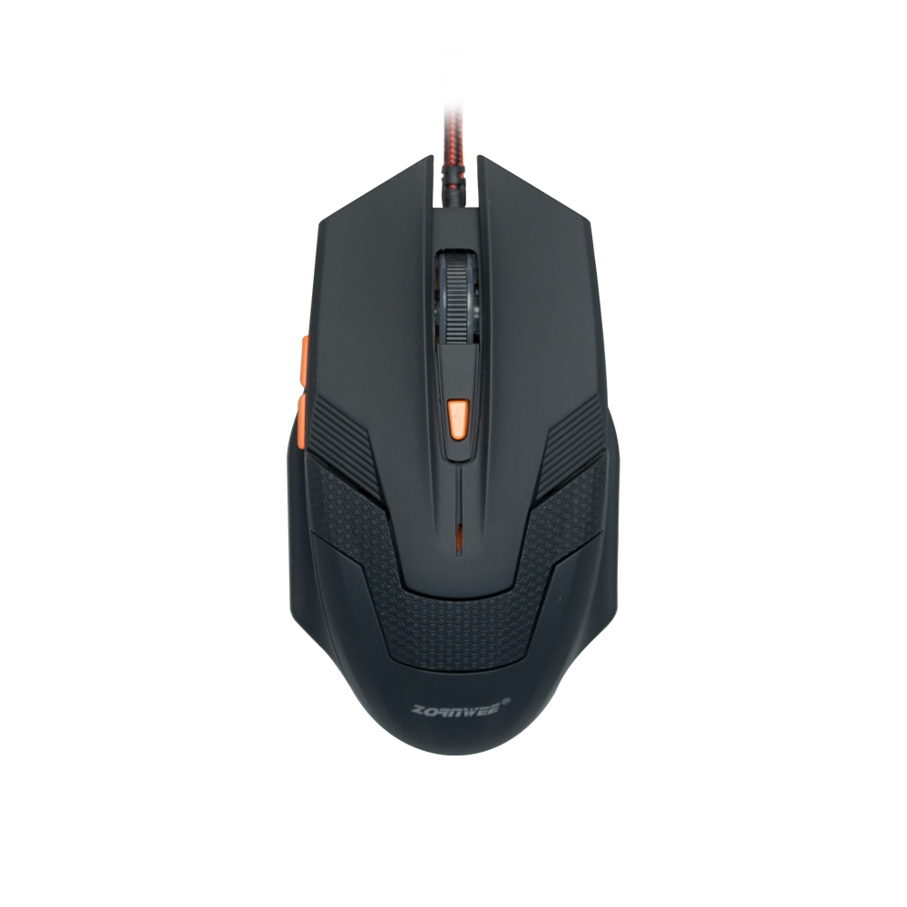 ZornWee G706,Gaming mouse Optical, Black - 702