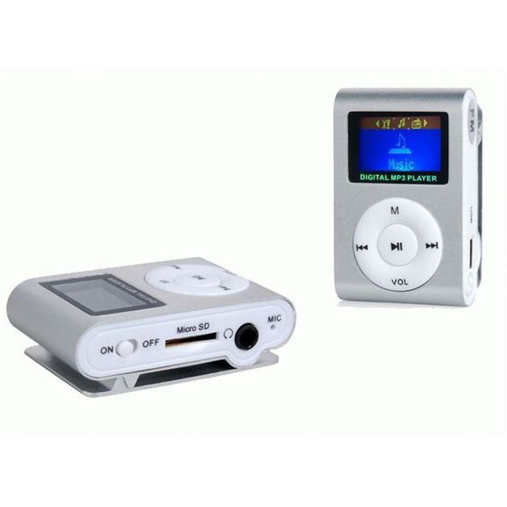 OEM Mini MP3 player, With display - 8007