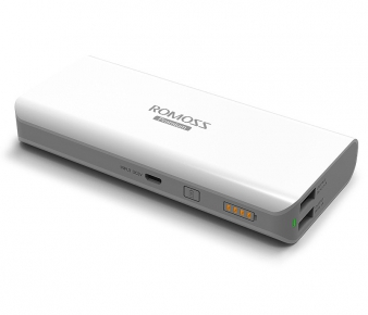Romoss PH50-305-A  Portable Battery sailing 5, 13000mAh, USB, 1xUSB 5V/2.1A, 1xUSB 5V/1A