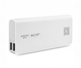 Romoss PH50-485-01 Portable Battery sense 4 LED, 10400mAh, 1xUSB 5V/2.1A, 1xUSB 5V/1A
