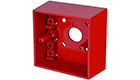 Hochiki SR Mounting box Surface Mounting Call Point Back Box Red