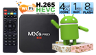 MXQ-PRO TV Box Android 5.1 Boxes Amlogic S905 Quad Core Bluetooth 4.0 1G/8G 2.4GHz WiFi 1000Mbps LAN