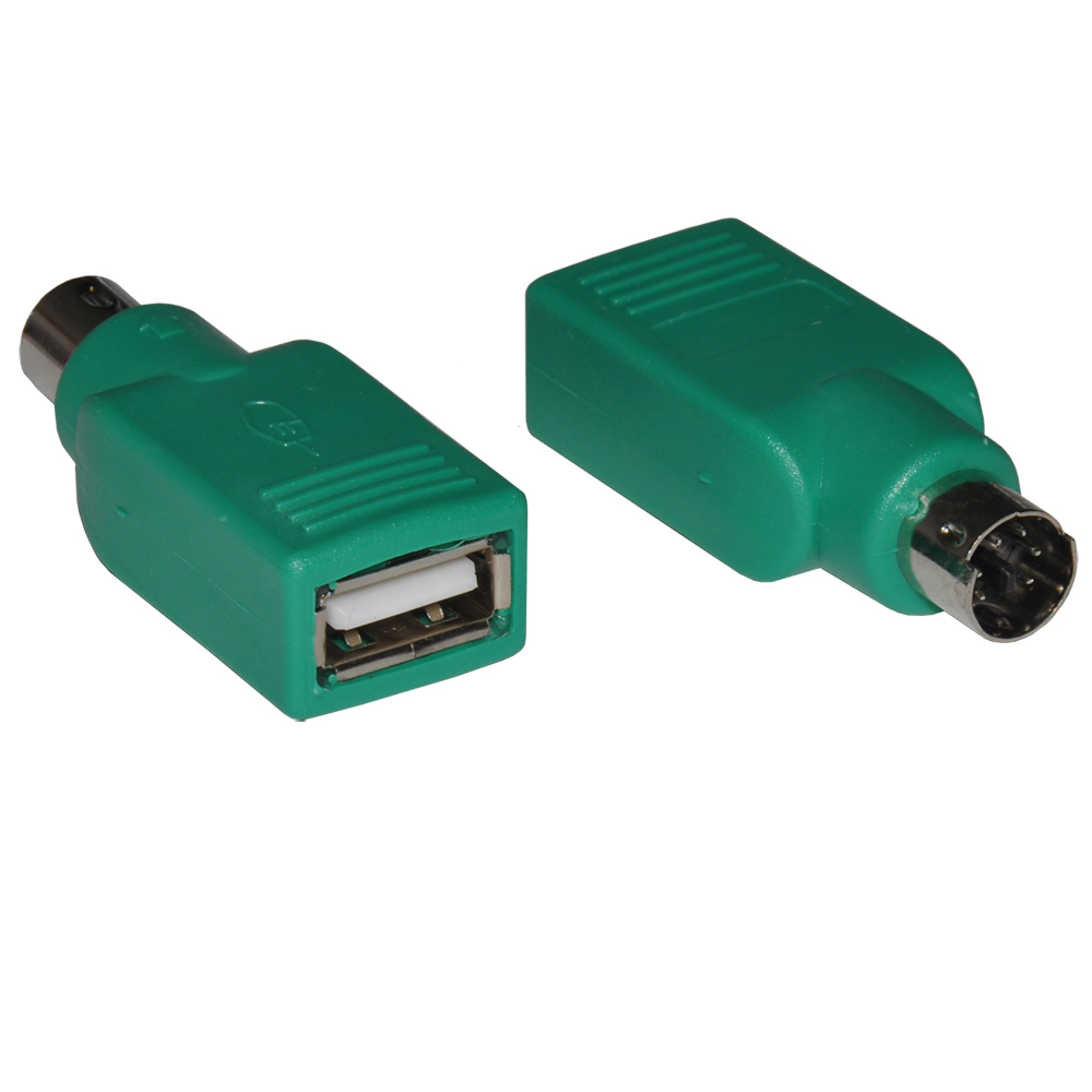 DeTech Adapter USB F to PS2 M - 17131