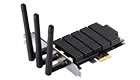 TP-LINK Archer T9E, AC1900,Wireless Adapter,dual band, PCI Express, 3x detachable antennas