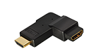 C201C HDMI Angled 90° Adapter HDMI-jack to HDMI-plug