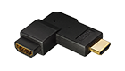 C201D HDMI Angled 270° Adapter HDMI-jack to HDMI-plug