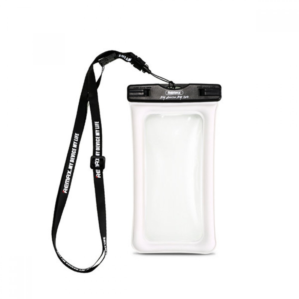 "Remax RT-W2 Plus Universal waterproof case, For 6"", White - 51515"