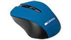 CANYON 2.4GHz Wireless Optical Mouse with 4 buttons - CNE-CMSW1BL