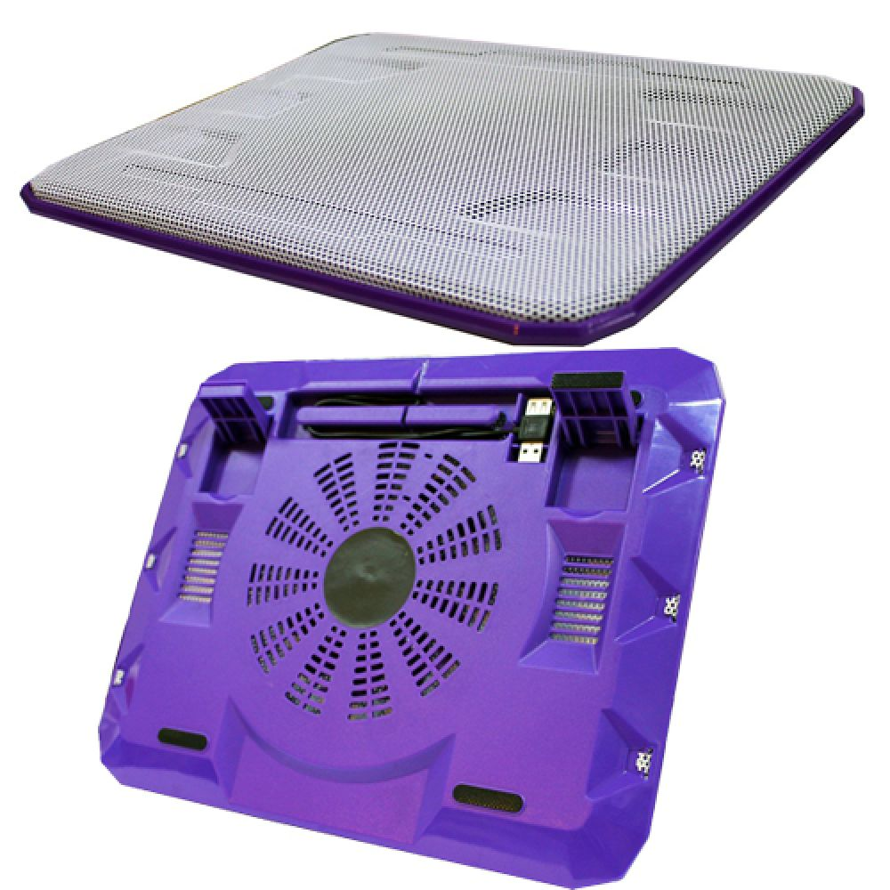 OEM Cooler pad 15.6 '', USB, Purple - 15031