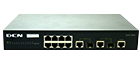 DCN DCS-3950-10C Management Switch Ports: 8x100, 2x1000 (combo SFP)