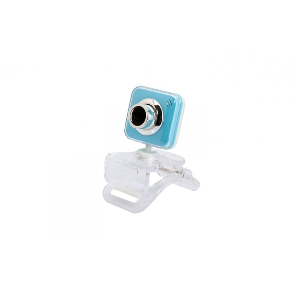 DeTech U-229 Web camera with microphone Blue - 3025