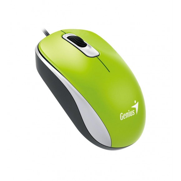 GENIUS DX-110 Optical mouse USB 1000dpi, Green