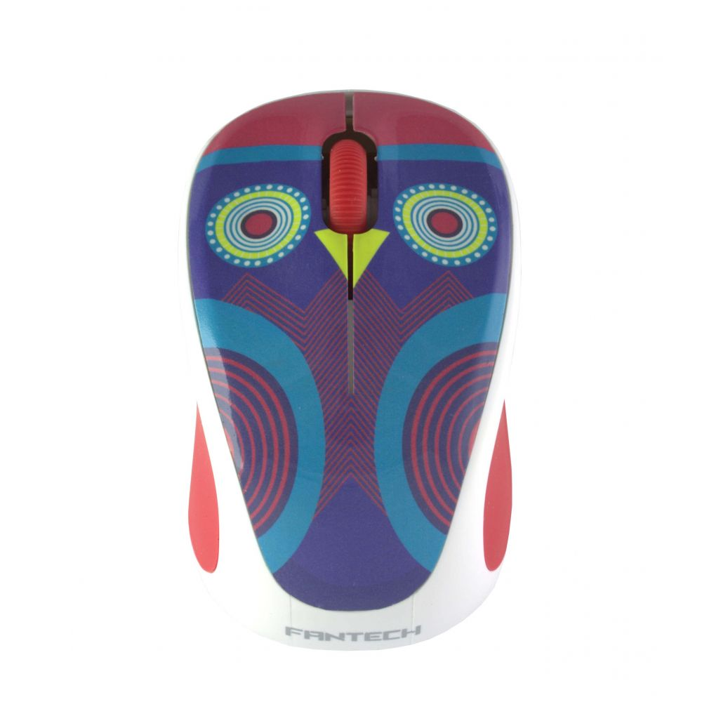 Fantech W235ZCW, Mouse Wireless, Multicolor - 939