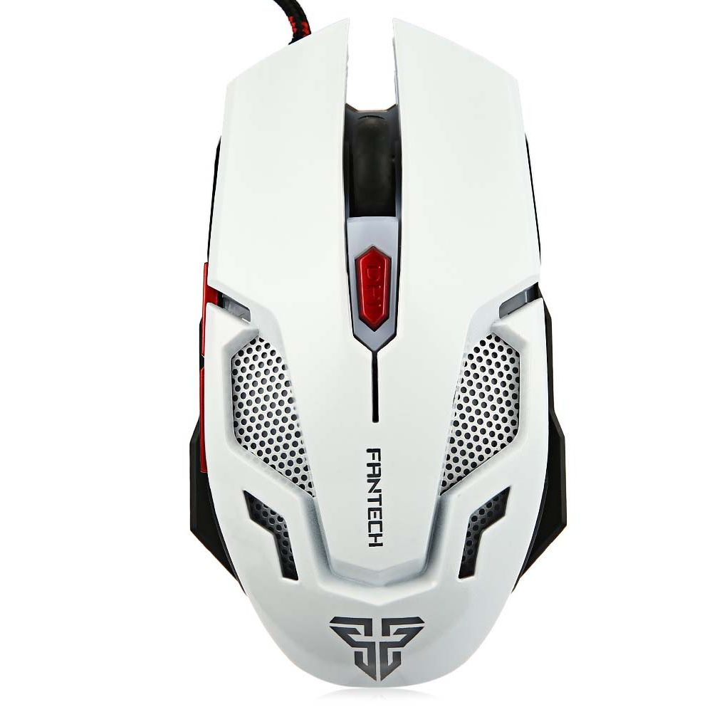 FanTech, Gaming mouse  optical V2,White - 981