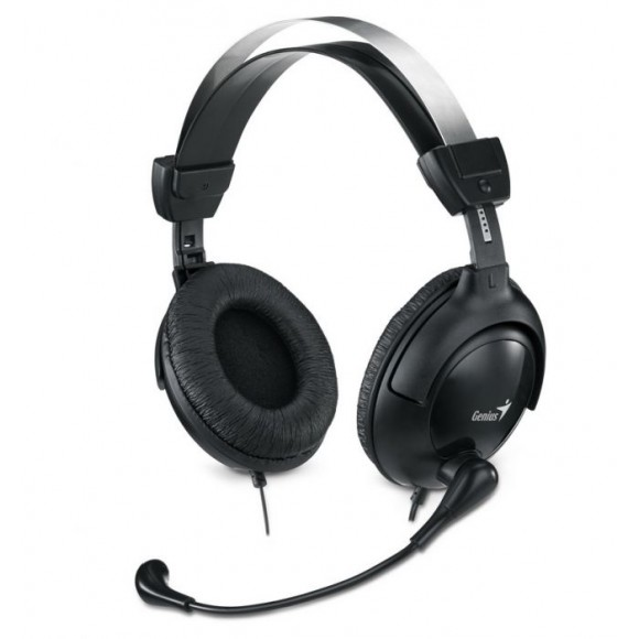 GENIUS HS-505X Headphones Black