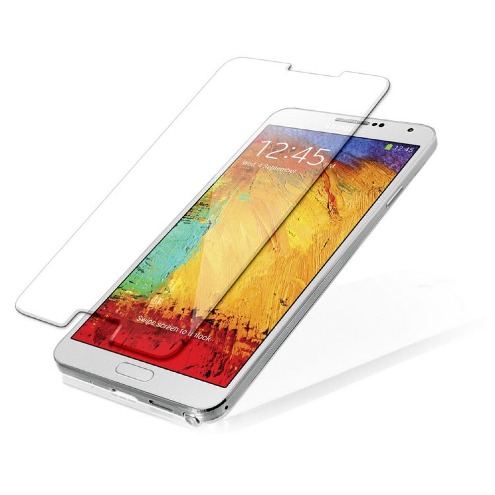OEM Glass protector Tempered Glass for Samsung Note 3, 0.3mm, Transparent - 52076