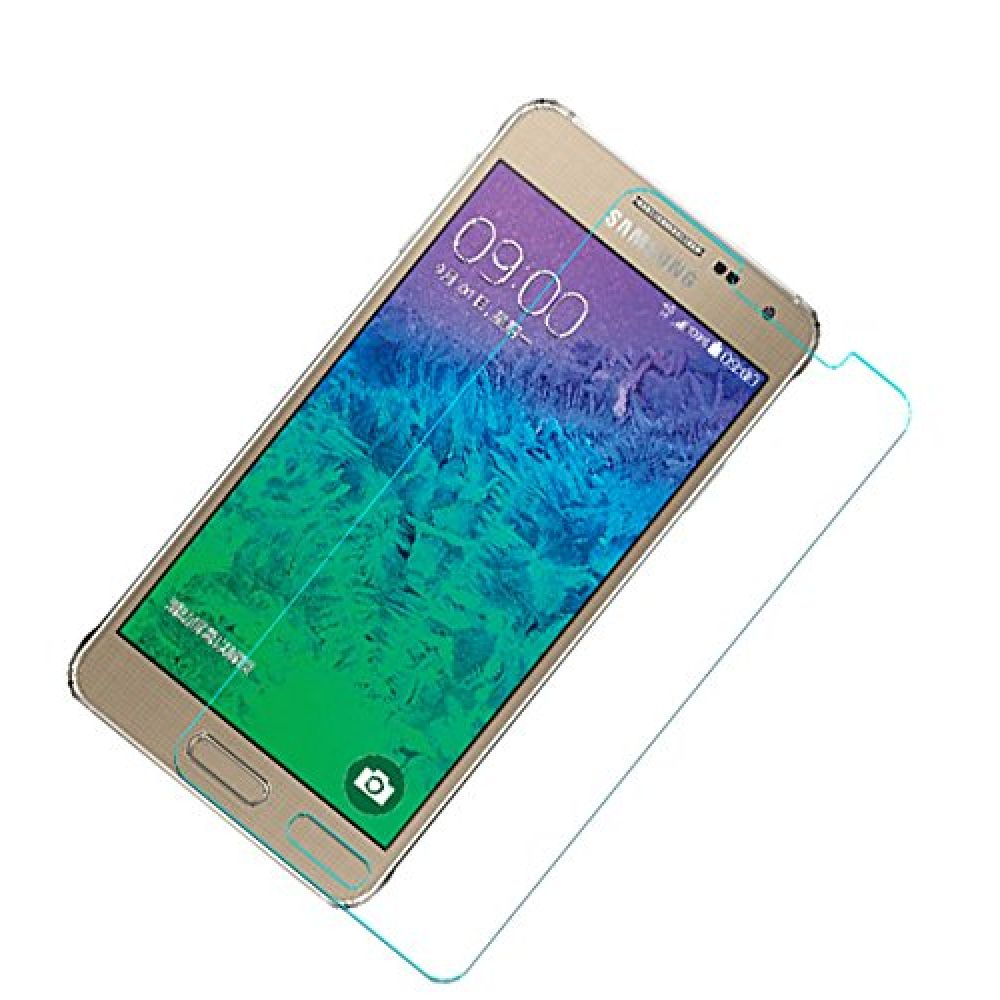 OEM Glass protector Tempered Glass for Samsung Galaxy Alpha, 0.3mm , Transparent - 52082