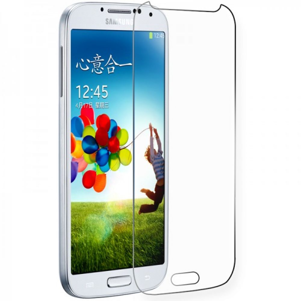 OEM Glass protector tempered glass for Samsung Galaxy S4, 0.3 mm, Transparent - 52029