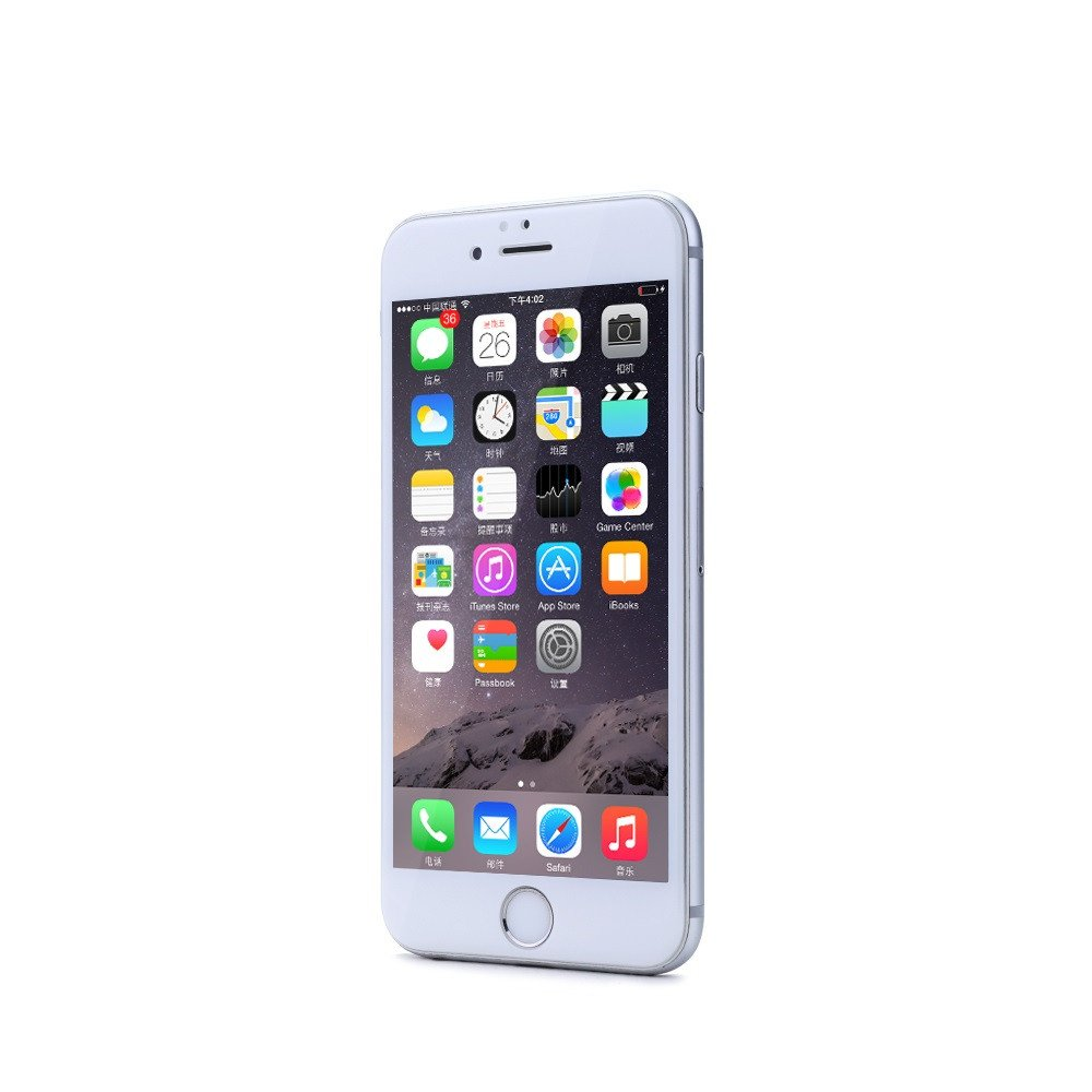 Remax Gener,Glass protector Full 3D,  For iPhone 6/6S,0,26mm, White-52211