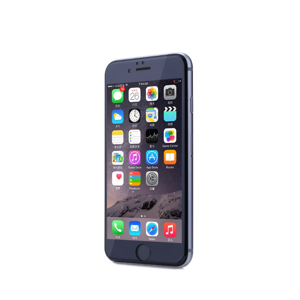 Remax Gener,Glass protector Full 3D, For iPhone 6/6S Plus, 0,26mm, Black - 52212