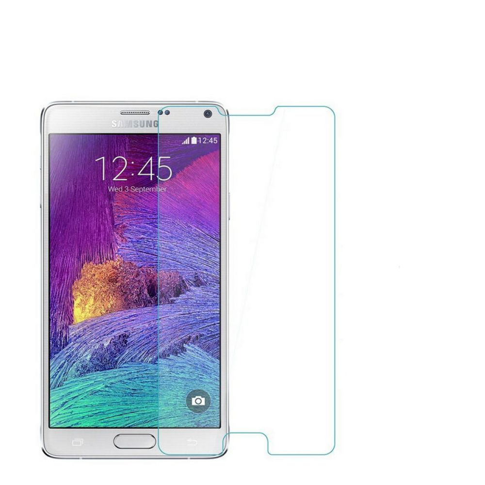 OEM Glass protector Tempered Glass for Samsung Galaxy Note 4, 0.3mm, Transparent - 52075