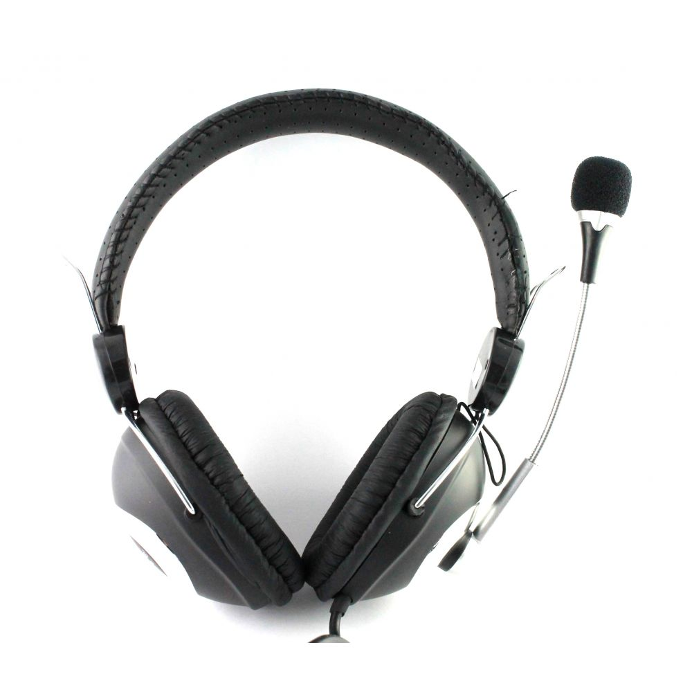 Ovleng OV-L8007MV  Headsets for computer with microphone, Black - 20220