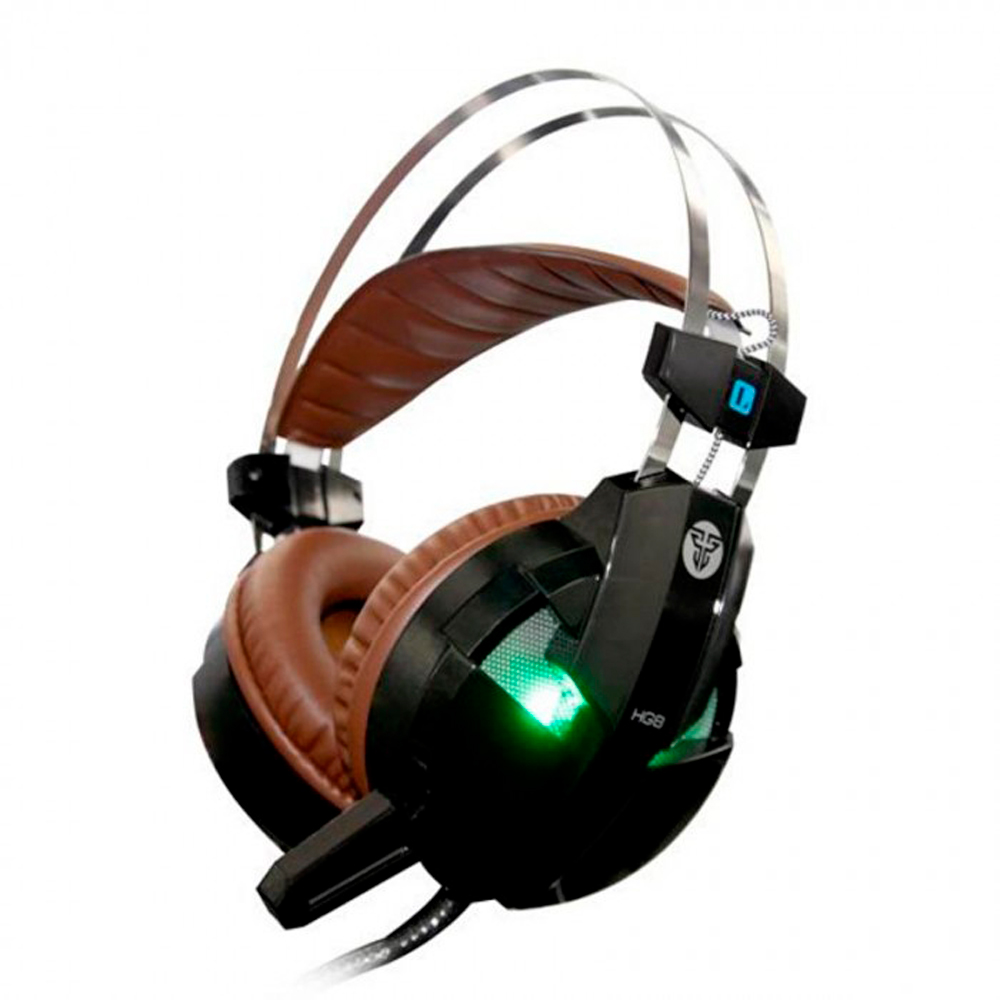 FanTech Visage HG8 Gaming headset, With microphone, Black - 20332
