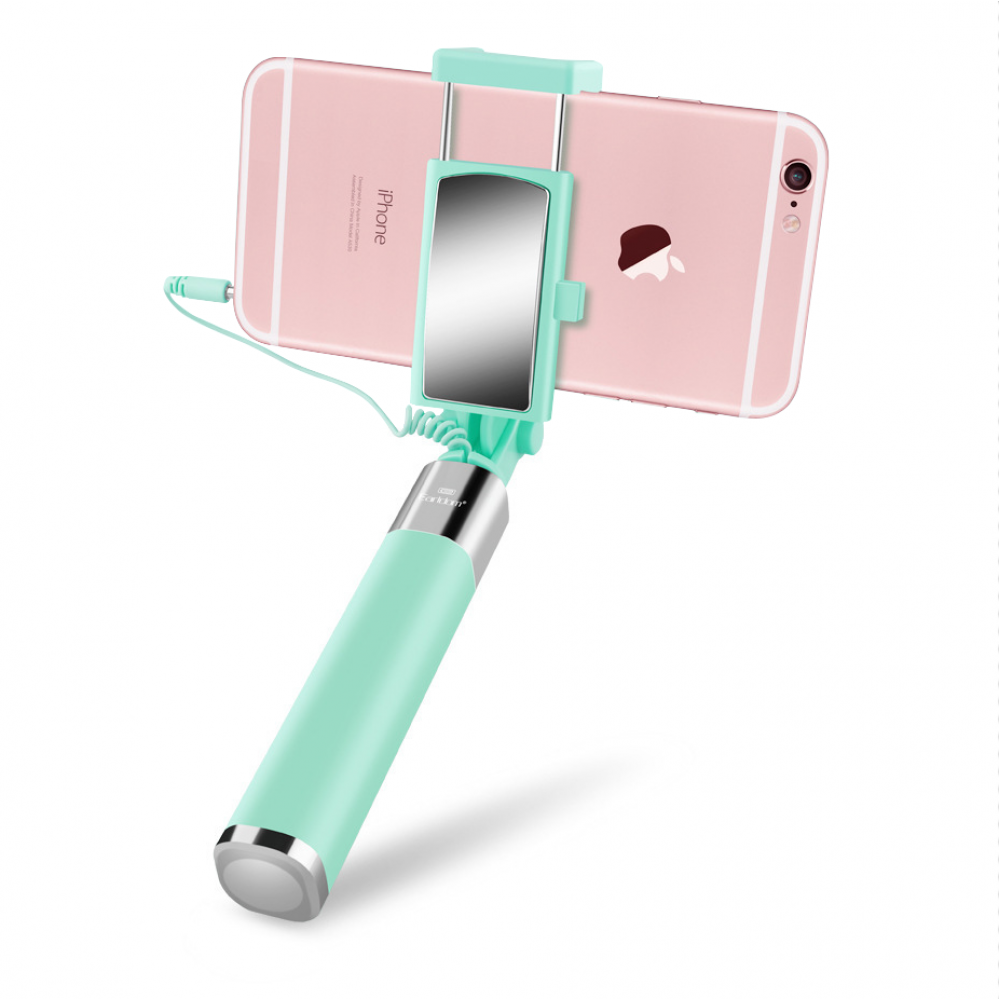 Earldom, ZP07, Selfie stick with cable, Different colors - 17288
