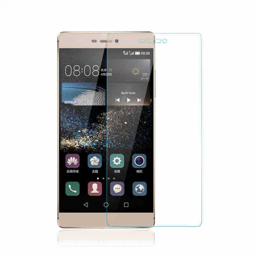 OEM Tempered glass for Huawei P8, 0.3mm, Transparent - 52113