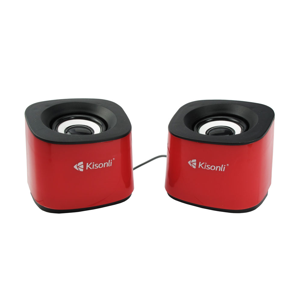 Kisonli S-333 Speakers 2*3W, USB, Different colors - 22056