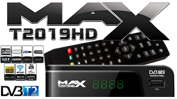 MAX 2019 HD DVB-T2 MPEG4 FULL HD & IPTV(Youtube....)