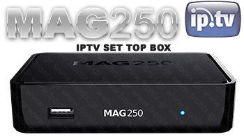 OEM MAG 250 TV SET BOX IPTV