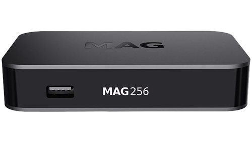 MAG 256 W1 IPTV SET-TOP BOX (BUILT IN WIFI) HEVC