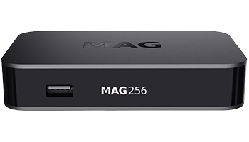 MAG 256 IPTV Multimedia Box HEVC