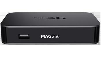 MAG 256 W2 IPTV SET-TOP BOX BUILT IN WIFI 802 11 b/g/n/ac standard