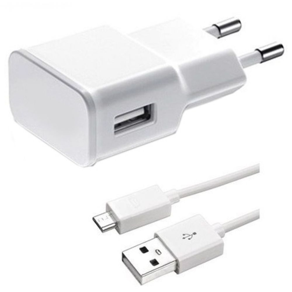 OEM Network charger Universal Travel 5V/1A 220A, 1 x USB, with cable Micro USB - 14257