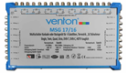 Venton Multiswitch MSG 17/16 - 4 Satellite for 16 Users