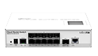 MikroTik CRS212-1G-10S-1S+IN, 400MHz, 64MB, 1xGE, 1xSFP+, 10xSFP, Layer 3